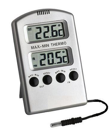 temperaturmåler inne og ute